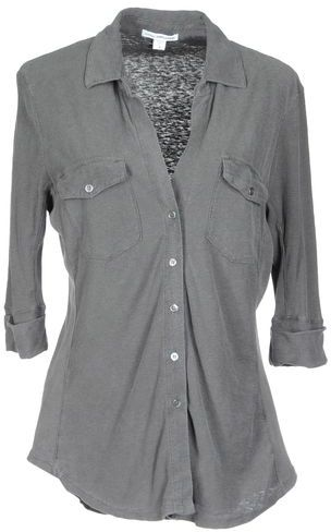 James Perse Shirt with 3/4-length sleeves