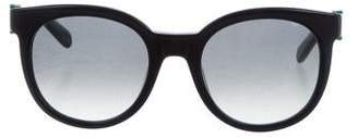 Salvatore Ferragamo Round Tinted Sunglasses