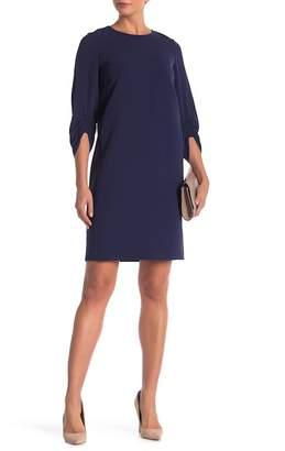 Lafayette 148 New York Tory 3/4 Length Sleeve Dress