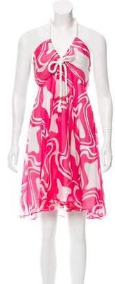 Milly Halter Mini Dress