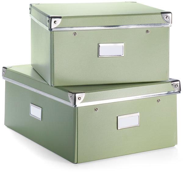 Green Storage Boxes