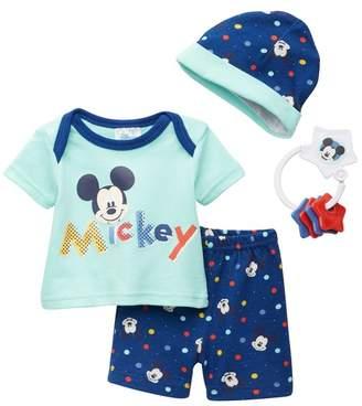 Confetti Disney(R) Mickey Mouse Layette 4-Piece Set (Baby Boys)