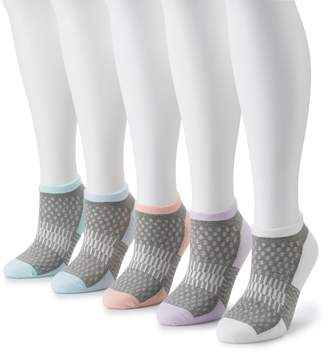 Tek Gear Women's 5-Pack No-Show Socks