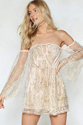 Nasty Gal Right Lace Mesh Romper