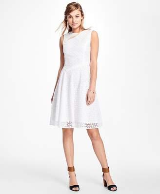 Asymmetrical Lace Dress $158 thestylecure.com