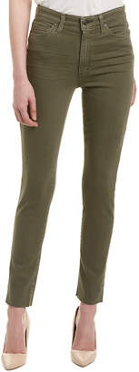 Joe's Jeans The Charlie Army Green High-Rise Skinny Ankle Cut