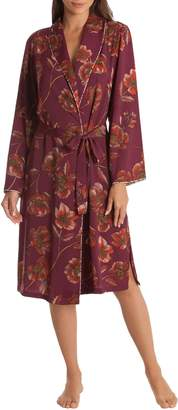 MIDNIGHT BAKERY Austin Floral Robe