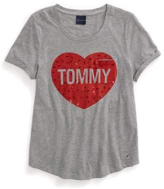 Tommy Hilfiger Sparkle Heart Tee