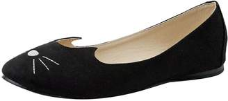 T.U.K. Original Footwear Womens Bunny Face Flat