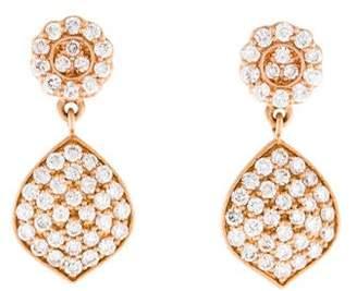 Jamie Wolf 18K Diamond Small Acorn Earrings