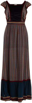 TALITHA Alicia Ashanti-print silk dress