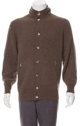 Brunello Cucinelli Hooded Cashmere Cardigan