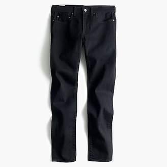 J.Crew 484 Slim-fit jean in black stretch denim