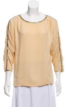 3.1 Phillip Lim Silk Embellished Blouse