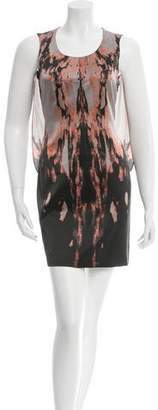 Givenchy Silk Printed Dress