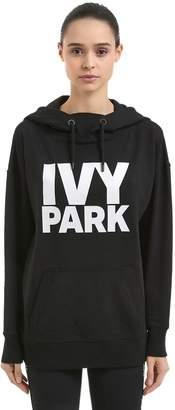 Ivy Park Programme Oh Cotton Blend Sweatshirt