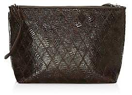 Elizabeth and James Women's Pouch Patchwork Leather Convertible Bag