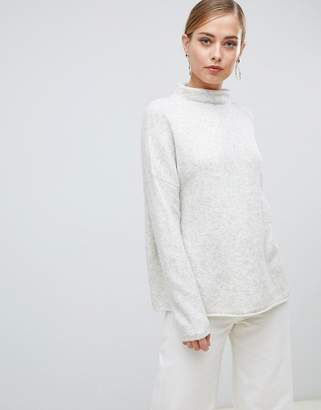 French Connection Flossy rollneck relaxed jumper