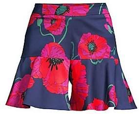 Trina Turk Women's Dixieland Floral Shorts