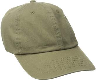 Dorfman Pacific Co. Men's Washed Twill Cap with Precurve