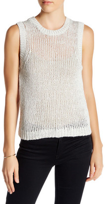 360 Cashmere Marian Silk Blend Knit Sweater Tank $195.50 thestylecure.com