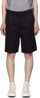 Rag & Bone Navy Smith Drawstring Shorts