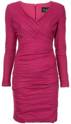 Nicole Miller gathered short dress
