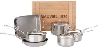 Mauviel M'Cook 6-Piece Cookware Set with Crate