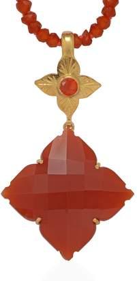 Emma Chapman Jewels - Throwing Star Carnelian Pendant