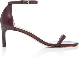 Stuart Weitzman Nudist Traditional Leather Sandal