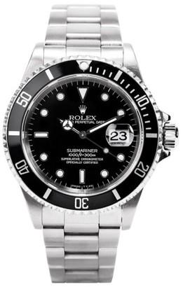 Rolex Submariner Date 16610 40mm Stainless Steel Watch $8,550 thestylecure.com