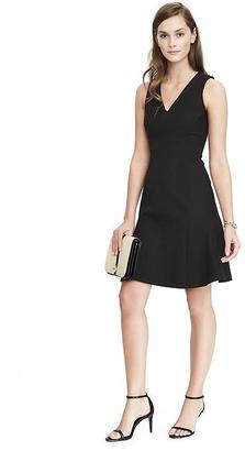 Fit and Flare Bi-Stretch Dress $118 thestylecure.com