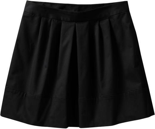 Women's Pleated Twill Skirts