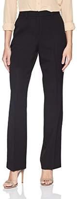 Pendleton Women's Straight Leg Wool Gabardine Pant