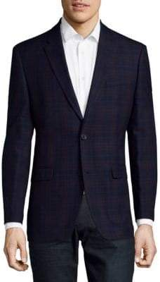Tommy Hilfiger Plaid Design Sportcoat