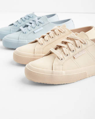 Express Superga Tonal Leather Sneakers