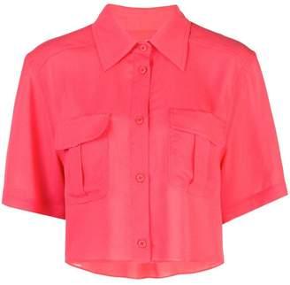 Fleur Du Mal cropped work shirt