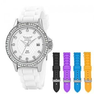 Aviator (アビアートル) - Aviator Ladies Watch with 5 Interchangeable Colouredシリコンストラップavx3665l3
