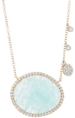 Meira T 14K Rose Gold Amazonite Necklace