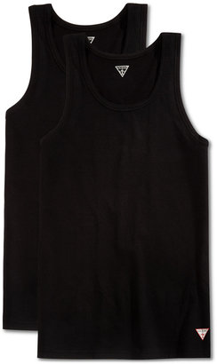 GUESS Men's 2 Pack Tank Tops $39 thestylecure.com