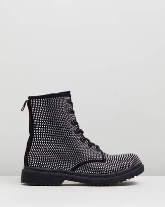 Missguided Chunky Sole Ankle Boots