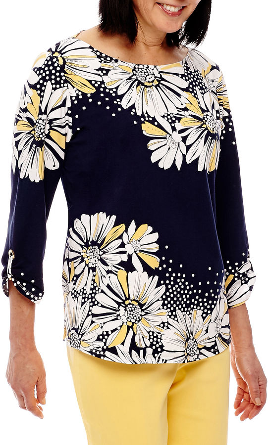 Alfred DunnerAlfred Dunner Seas The Day Tunic Top