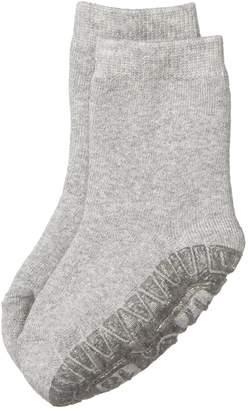 Sterntaler Baby Girls FLI Soft Uni Socks Silver (Silber Melange 542) 19/20 (manufacturer Size: 12-18 Months)