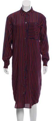 Closed Abiola Silk-Blend Shirtdress w/ Tags
