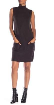 Max Studio Sleeveless Turtleneck Dress