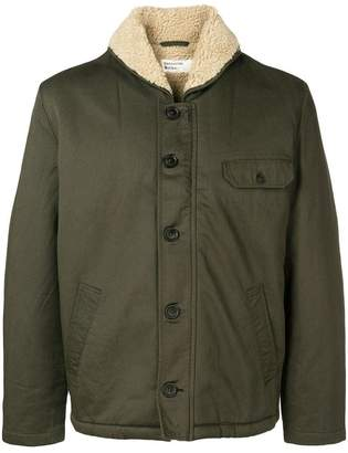Universal Works lined military jacket