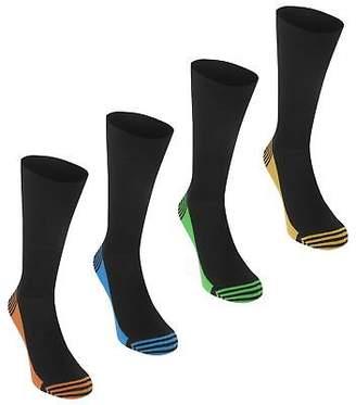Soul Cal SoulCal Mens Toe Dip Socks Crew