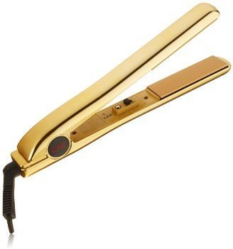 "CHI PRO 1"" Ceramic Flat Iron in Keratin Gold with Free Gifts - Ionic Tourmaline Hair Straightener $87.99 thestylecure.com"