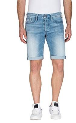 Replay Men's M997b .000.101 263 Short, (Blue Denim 11), (Size: 29)