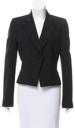 Balenciaga Structured Wool Blazer